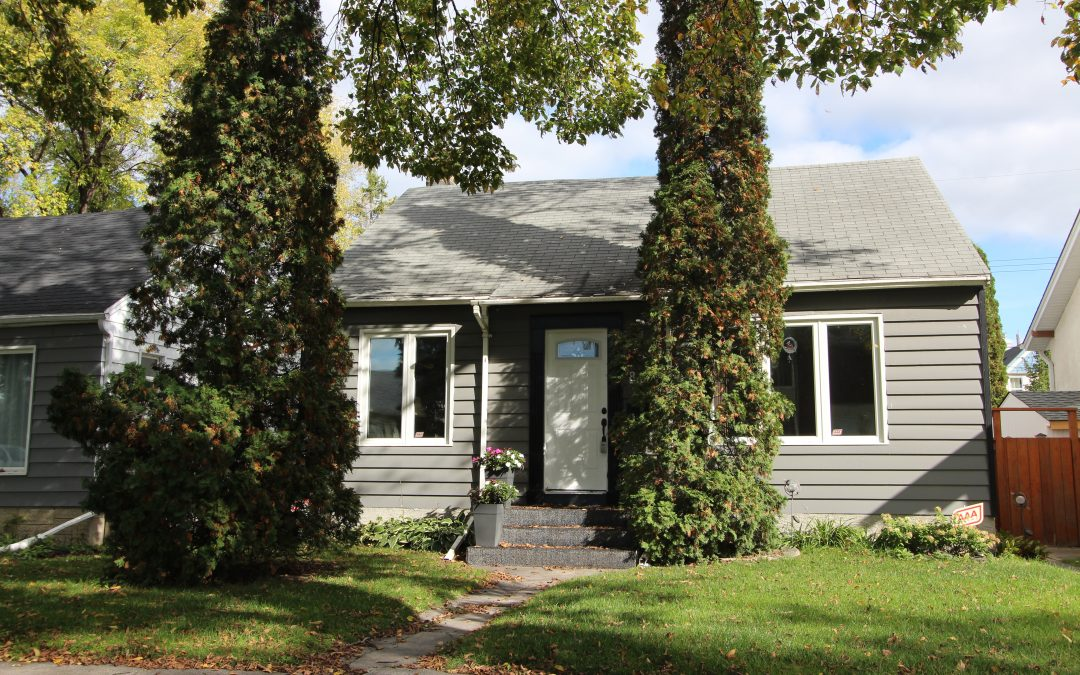 SOLD!! 885 Spruce Street, Winnipeg, MB – $274,900
